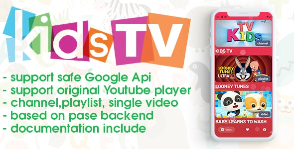 Kids TV (android, youtube)