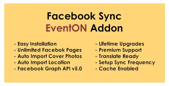 Facebook Sync - EventON Addon