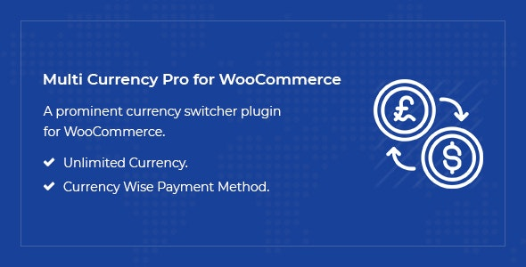 Multi Currency Pro for WooCommerce - CodeCanyon Item for Sale