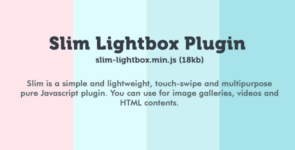 Slim Lightbox Plugin
