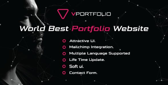Vportfolio - Laravel Personal Portfolio Script
