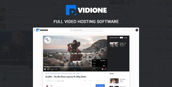 Vidione - online media platform software - CodeCanyon Item for Sale