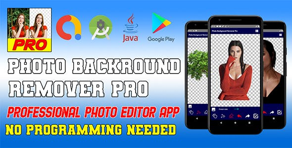 Photo Backround Remover Pro Apps with AdMob - Android Source Code