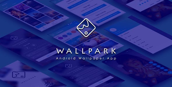 Wallpark - An android HD Wallpaper app with admin panel