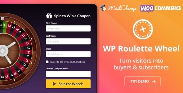 WP Roulette Wheel – Spin to Win WooCommerce Coupons - CodeCanyon Item for Sale