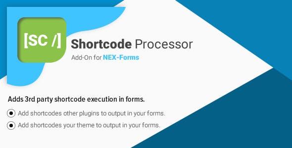 Shortcode Processor for NEX-Forms