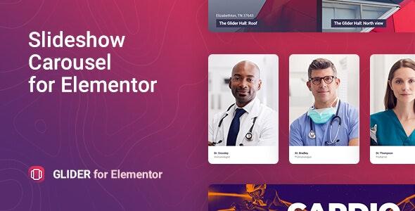 Glider – Slideshow & Slider for Elementor - CodeCanyon Item for Sale