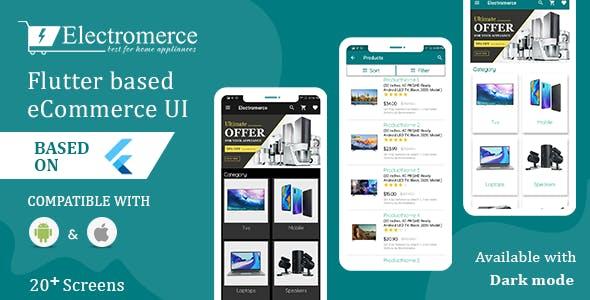 Electromerce - Flutter based eCommerce UI