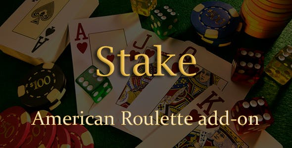 American Roulette Add-on for Stake Casino Gaming Platform