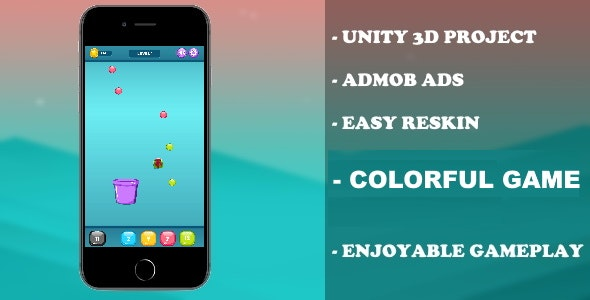 Basket Colorful - (Unity - Admob) - CodeCanyon Item for Sale