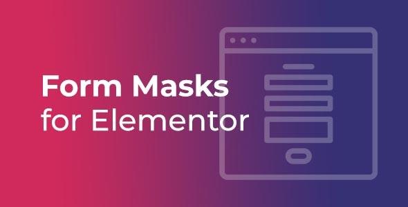 Form Masks for Elementor - CodeCanyon Item for Sale