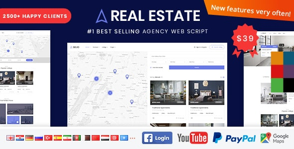 Real Estate Agency Portal - CodeCanyon Item for Sale