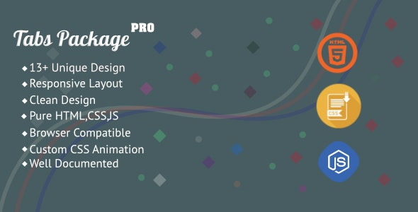 Tabs Package Pro - CodeCanyon Item for Sale