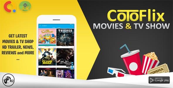 CotoFilm - TMDB Movies & TVShows with Admob Ads