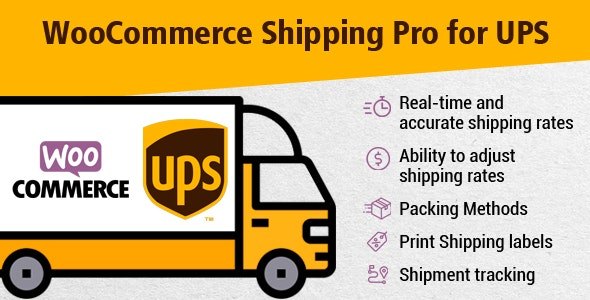 WooCommerce Shipping Pro for UPS