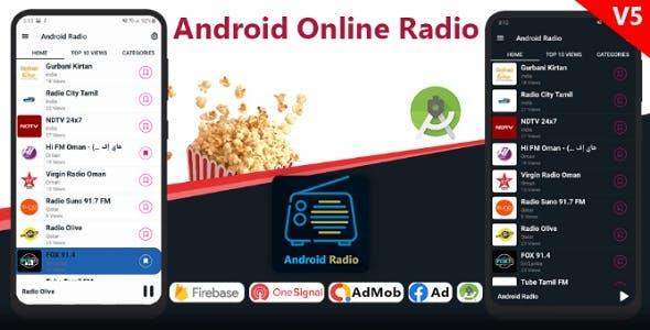 Android Online Radio