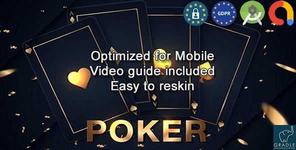 Poker (Admob + GDPR + Android Studio) - CodeCanyon Item for Sale