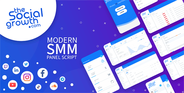 TheSocialGrowth - SMM Panel Script - CodeCanyon Item for Sale