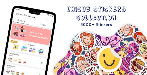 Stickers for Whatsapp - Admob + Facebook Integration