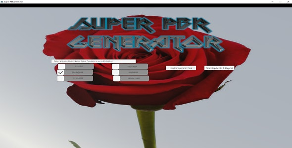 Super PBR Texture Generator - CodeCanyon Item for Sale