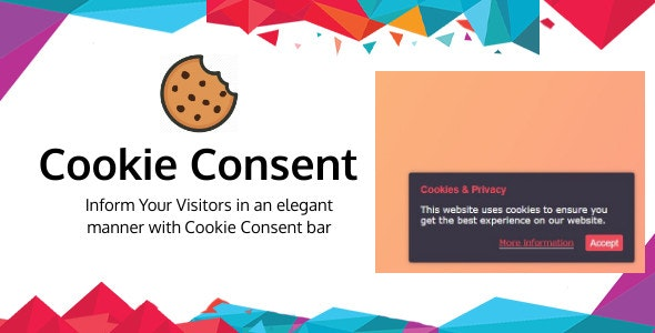 Cookie Consent- WordPress Cookie Consent Plugin - CodeCanyon Item for Sale
