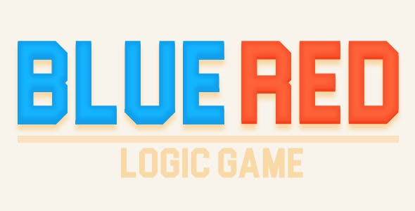 Bluered logic game - HTML5 Game + Mobile Version! (Construct 3 / Construct 2 / CAPX)