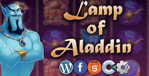Lamp of Aladdin - slot machine 2020, html5 game