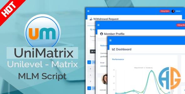 UniMatrix Membership - MLM Script