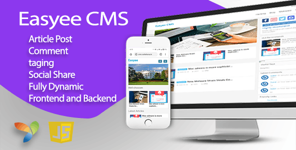 Easyee CMS - Blog, News, Magazine in Yii - CodeCanyon Item for Sale