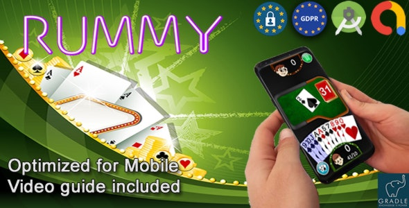 Rummy Classic - Rami (Admob + GDPR + Android Studio) - CodeCanyon Item for Sale