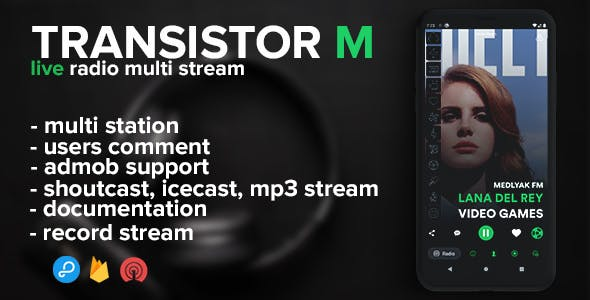 Transistor M radio (android)