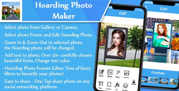 Hoarding Photo Editor (Objective C) - CodeCanyon Item for Sale
