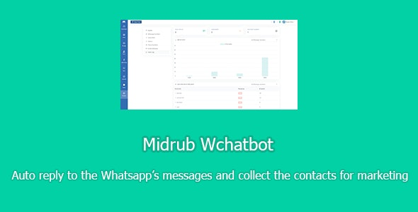 Midrub Wchatbot - chatbot for Whatsapp with SAAS support - CodeCanyon Item for Sale