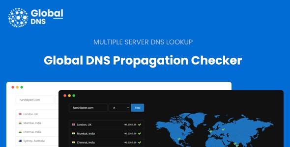 Global DNS - Multiple Server - DNS Propagation Checker