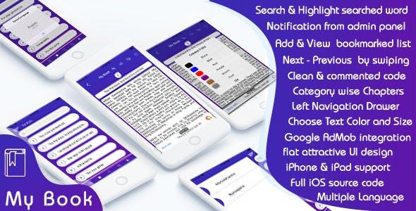 My Book Online - iOS