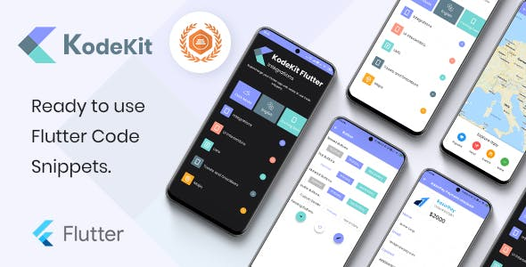 KodeKit - Ready to use flutter code snippets