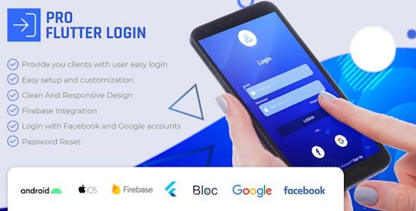 PRO Flutter Login Full App