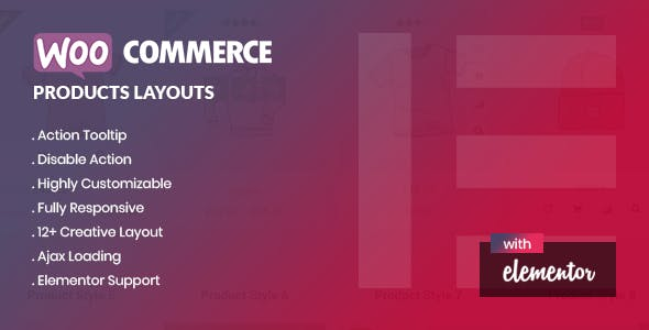 Yolo Products Layouts - WooCommerce Addon for Elementor Page Builder