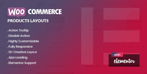 Yolo Products Layouts - WooCommerce Addon for Elementor Page Builder - CodeCanyon Item for Sale