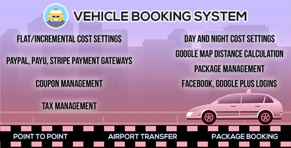 Digi Online Vehicle Booking System - DOVBS