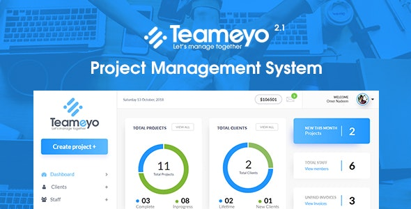 Teameyo - Project Management System - CodeCanyon Item for Sale