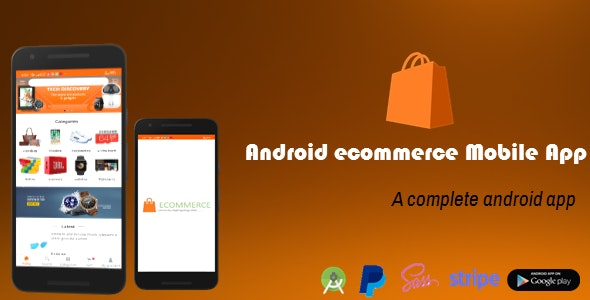 Android Ecommerce - Ecommerce Mobile App for Android - CodeCanyon Item for Sale