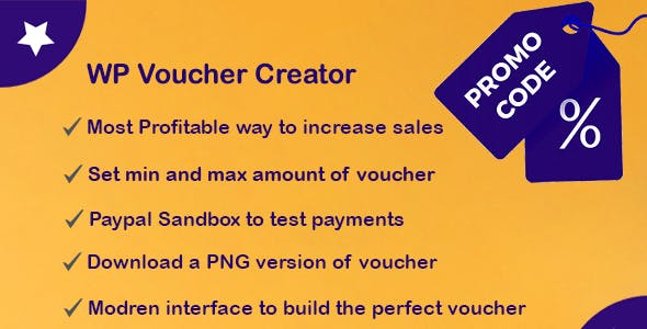 WordPress Voucher Creator