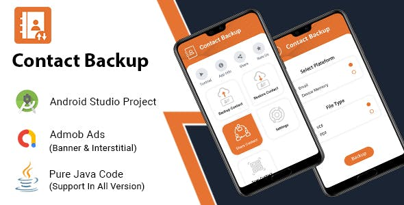 Easy Contacts Backup & Restore - Android App