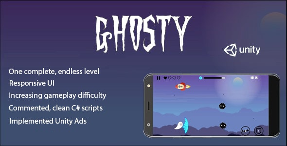 Ghosty - Complete Unity Game - CodeCanyon Item for Sale