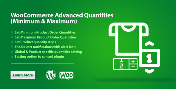 WooCommerce Advanced Quantities (Minimum & Maximum)