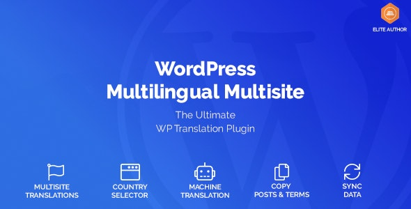 WordPress Multilingual Multisite - CodeCanyon Item for Sale