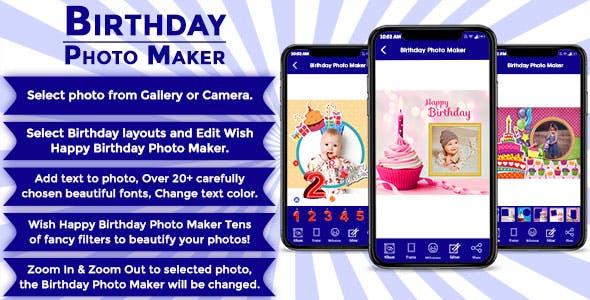 Birthday Photo Maker IOS (Objective C)
