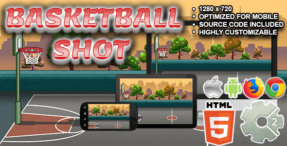 Basketball Shot ( HTML5 + CAPX )