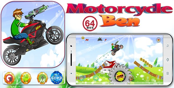 Motorcycle Gun Shot with GDPR+64 Bits(Android Studio)- the addition of admob is on demand for free